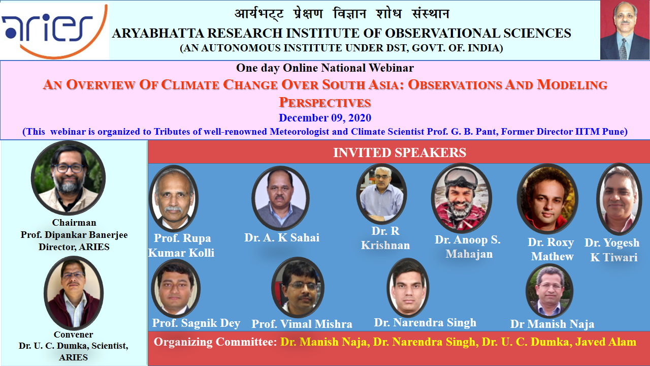 An overview of climate change over South Asia: observational and modeling perspective